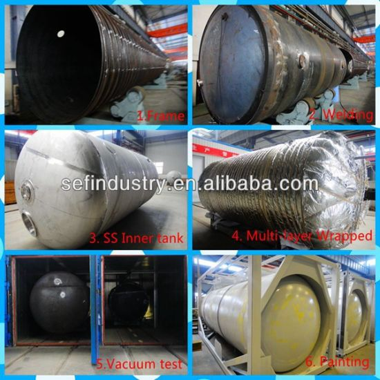 2014 Low Pressure Tank Container (T75-20) pictures & photos