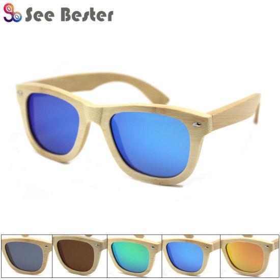 2f69ac74e3 China 100% Bamboo Wooden Sunglasses Wholesale