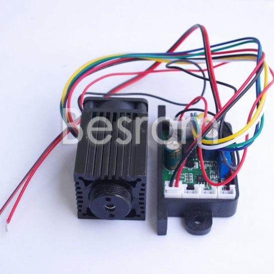 Stage Lighting Long Duty 12VDC Ttl 532nm 100mw Green DOT Laser Module