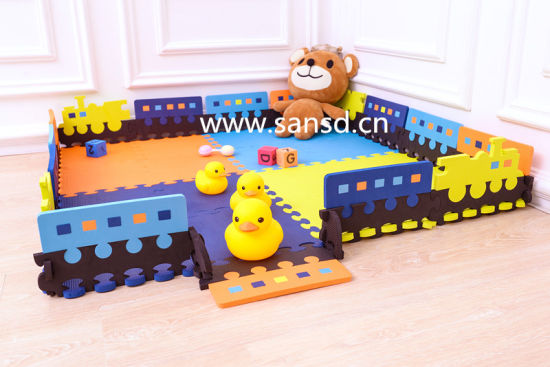 Kids Formamaid Free Train EVA Mat New Designed Petened Product pictures & photos