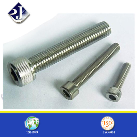 Zinc-Plated Steel Hex Cap Screw pictures & photos
