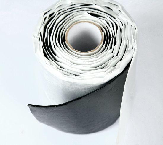 Waterproof Sealing Repair Tape Flex Butyl RV Roof Tape Black Rubber Vinyl  Tape Tpo Edpm for Leak Window, Chimney, Boat, Pipe, Hose