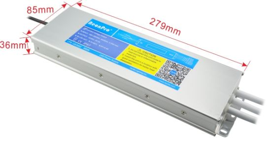 300W 12V Constant Voltage Waterproof LED Transformer with Ce, Bis pictures & photos