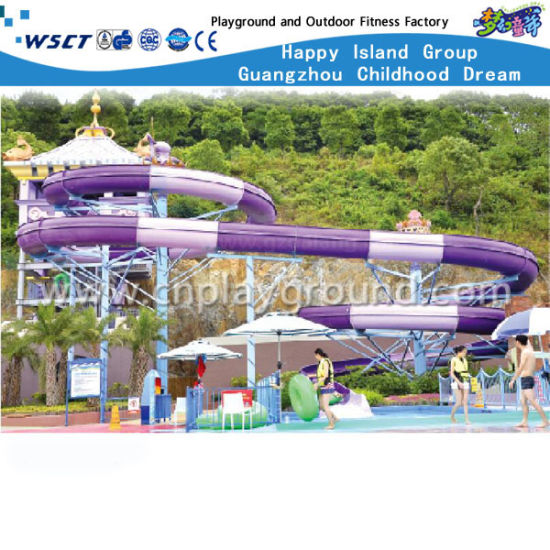 High Quality Stimulation Water Park Slide for Sale (HD-6905) pictures & photos
