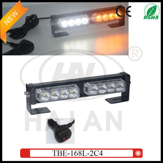 Dual Color Led Surface Mount Grille Light Bar Tbe 168l 2c4