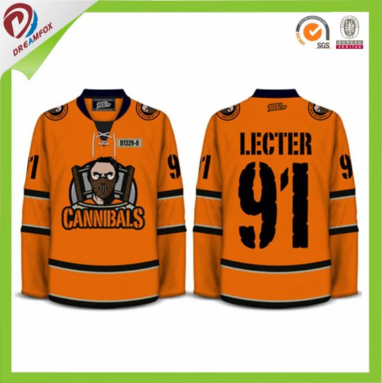 China Wholesales Custom Youth Hockey Jerseys Cheap Design ... 1ef33159b93