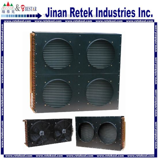 Air Cooled Copper Tube Condenser as Air Conditioner Parts