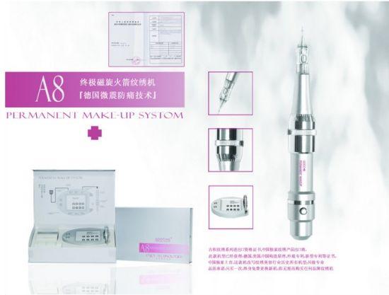 Semi Permanent Makeup Cosmetic Tattoo Machine A8