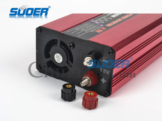 Suoer Solar Inverter 1000W Digital Display Power Inverter 12V to 220V Modified Power Solar Inverter (SQA-1000A) pictures & photos