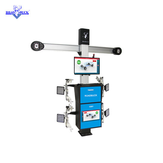 Work Shop Automatic Autodata Database 3D Wheel Aligner with Ce
