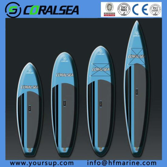 "Inflatable Stand up Paddle Boat Sup (swoosh 12′6"") pictures & photos"