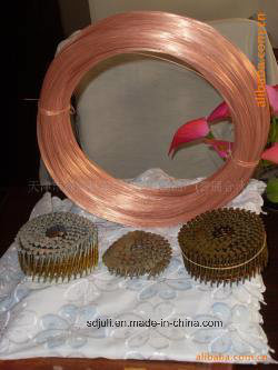 Submerge Arc Solid Solder Coil Nail Copper Welding Wire pictures & photos