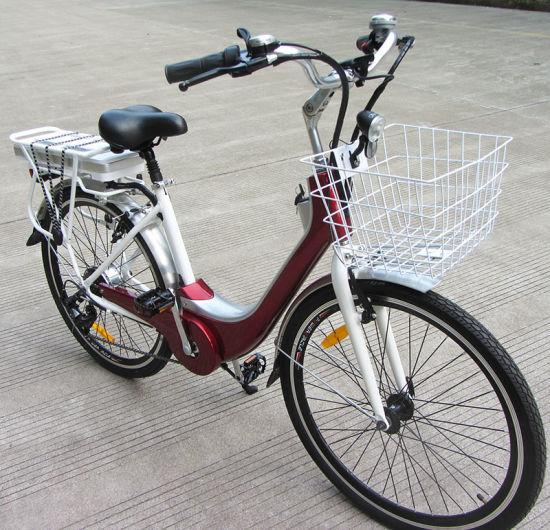 China New Design Steel Frame City E Bike - China Electric Bicycle ...