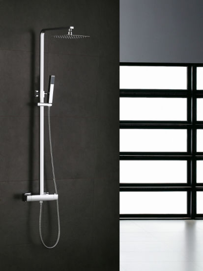 Square Shape Thermostatic Shower Mixer Shower Faucet pictures & photos