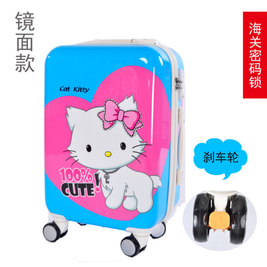 ABS High Quality Custom Travelling Luggage Bag in Mirrow Polished pictures & photos