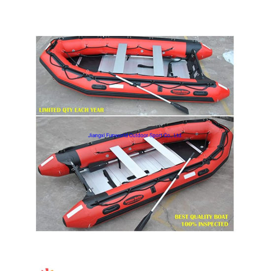 CE 3.2m PVC Hull Material Rubber Dinghy Inflatable Boat for Sale