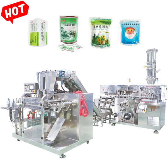 Small Packets Into Big Bag Pouch High Speed Flour/Powder/Seasonings Automatic Packing Machine Packaging Production Line