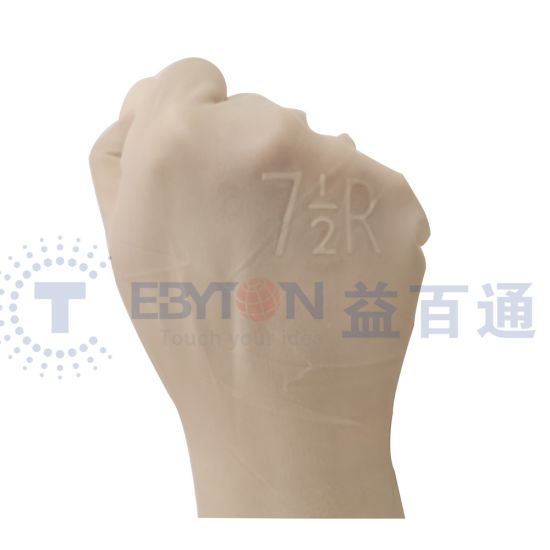 Medical Protective Safety Examination Gloves with Powder pictures & photos