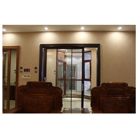 Customized Aluminum Hanging Sliding Glass Door With Safe Lock Double Door Design For Bedroom Living Room Balcony China Sliding Glass Door Sliding Doors Made In China Com