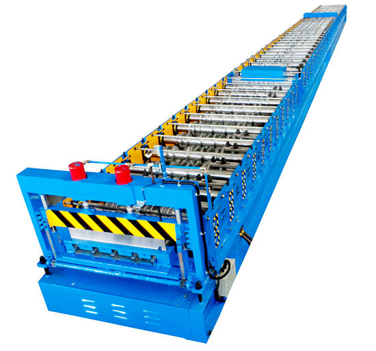 Xiamen Liming Yx660 Roll Forming Machine for Closed Floor