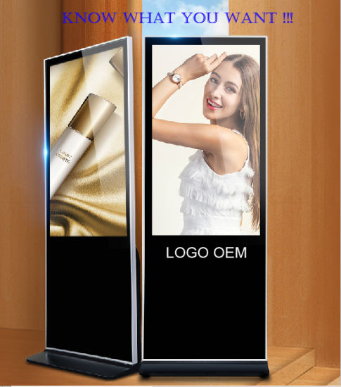 """49"""" Inch Original Factory Supply Stand LCD Display Panel Advertising Player"""