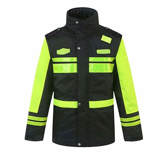 Warm Keep Construction Safety Workwear High Light Reflective Security Jacket pictures & photos