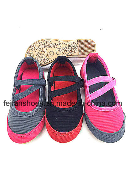 Latest Baby Injection Canvas Shoes Infant Footwear Shoes (FFBB1228-02)