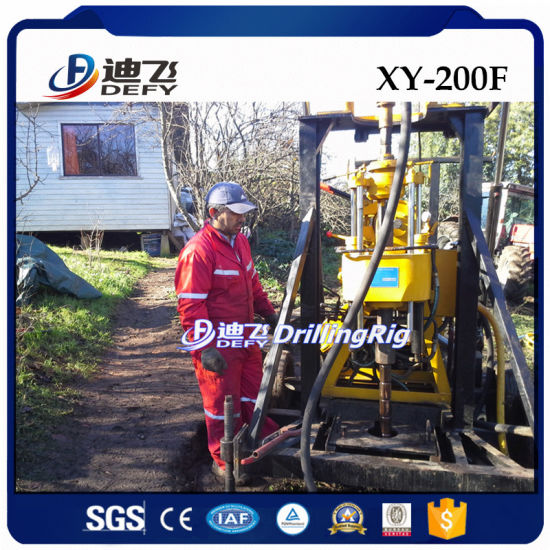 Xy-200f Walking Drilling Machine, Water Well Drilling Rig for Sale