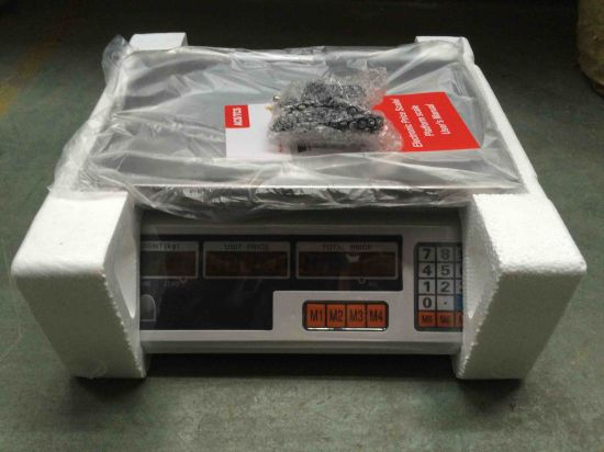 Hot Supermarket Digital Weighing Scale pictures & photos