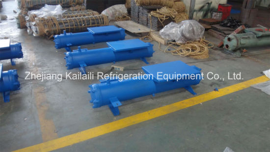 Shell and Tube Water Cooled Condenser with Ce for Refrigeration Unit SL-10HP pictures & photos