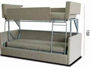 Living Furniture Folding Sofa Bunk Bed