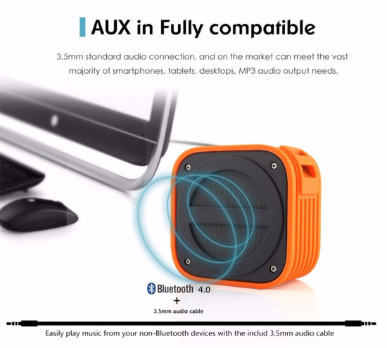 Rechargeable Mini Portable Bluetooth Wireless Speaker for Outdoor pictures & photos