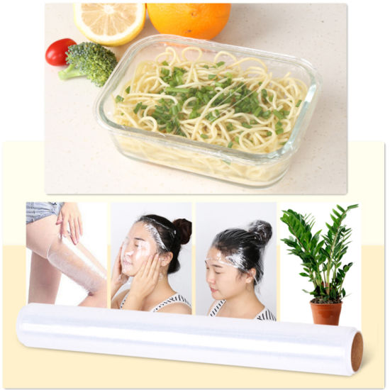 Plastic Transparent Moisture Proof Soft Food Cling Film pictures & photos