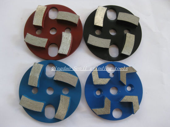 Metal Bond Grinding Plate Diamond Floor Polishing Pad for Concrete