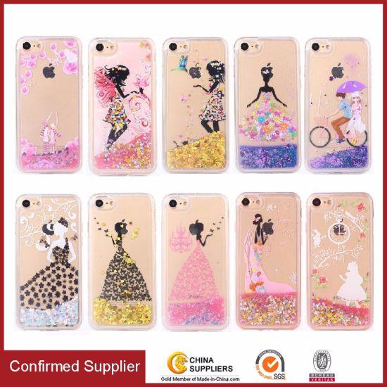 new products fdb1a fddc0 Printing Glitter Bling Liquid Sand Quicksand TPU Phone Case for Samsung J5  J7 2016