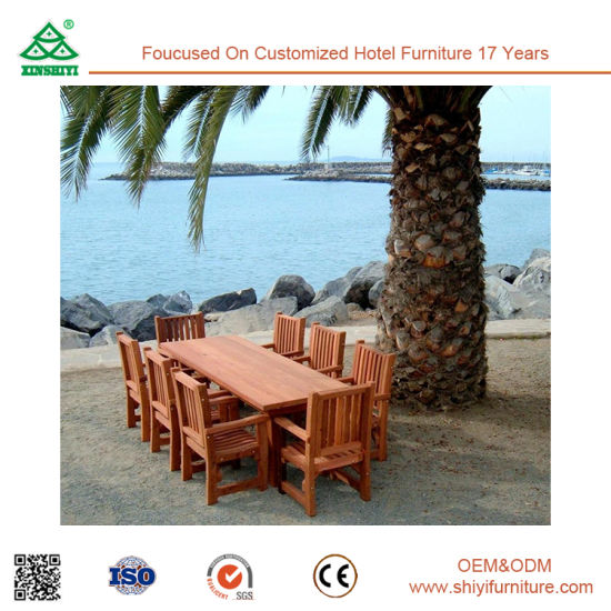 Outdoor Swimming Pool Dining Chairs Table