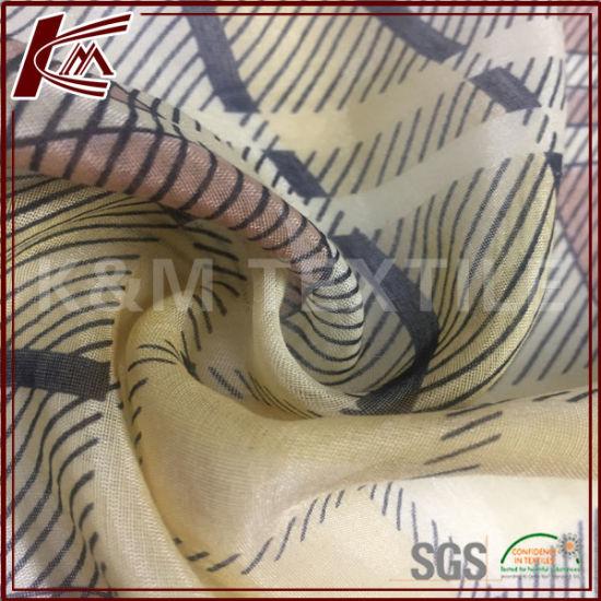 Chinese Manufacturer 8mm 30% Silk 70% Cotton Shirt Fabric