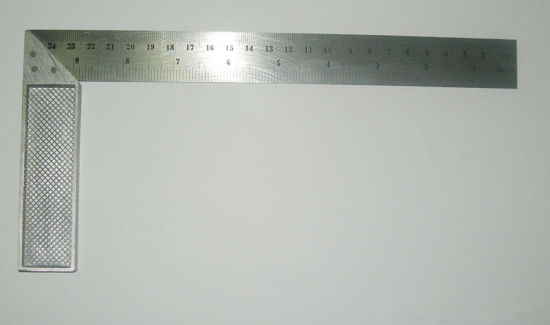 Steel Angle Square/Try Square Ruler Carpenter′s Framing Squares pictures & photos