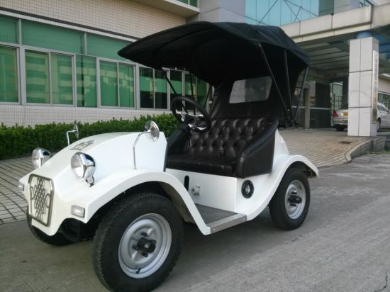 China Noble 4 Wheel 2 Seats Classic Mini Electric Golf Car Scooters