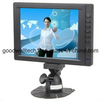HDMI, AV, VGA Input 8 Inch Stand Alone Touch Monitor