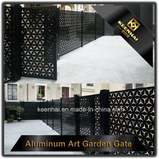 Outdoor Decorative Aluminum Fences Gate for Design pictures & photos