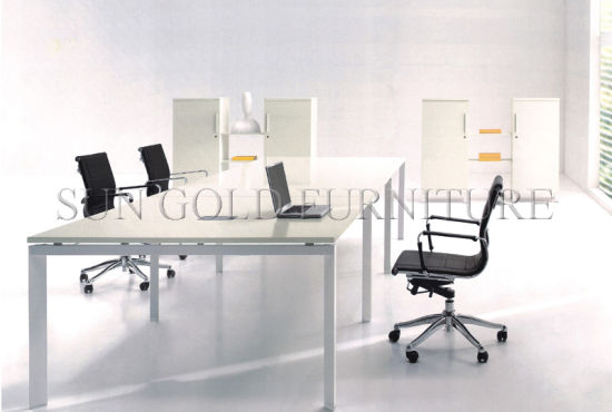 minimalist office furniture. Modern Open Workstation White Glossy Minimalist Office Furniture (SZ-WS114)