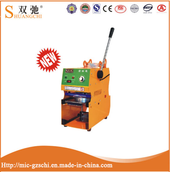 Manual Cup Sealing Cup Sealer Bubble Tea Sealing Machine pictures & photos