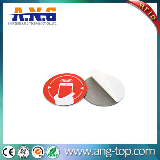 Paper Surface High Frequency NFC Tags RFID Label Tag pictures & photos