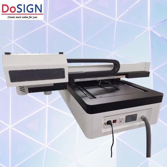 PP 12 Rip Software 3 PCS XP600 Heads UV Flatbed Printer 6090