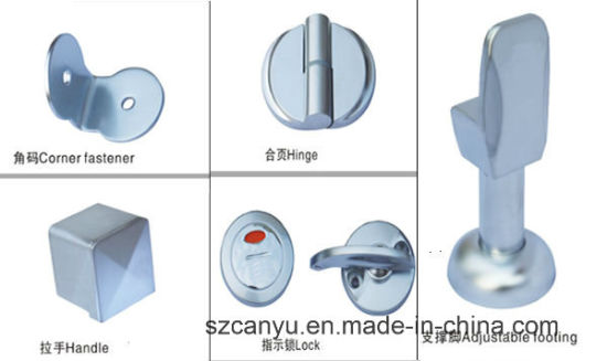 Stainless Steel Hardware Phenolic Toilet Partition pictures & photos