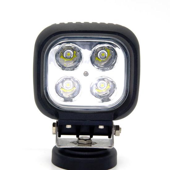 4 Inch Square 40W Auto Car LED Work Lamp Spotlight