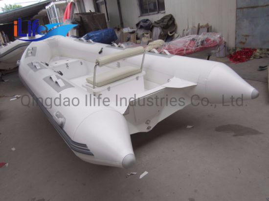 Ilife (CE) 14FT 4.3m 7 Persons Factory Wholesale High Quality Inflatable Rib Boat