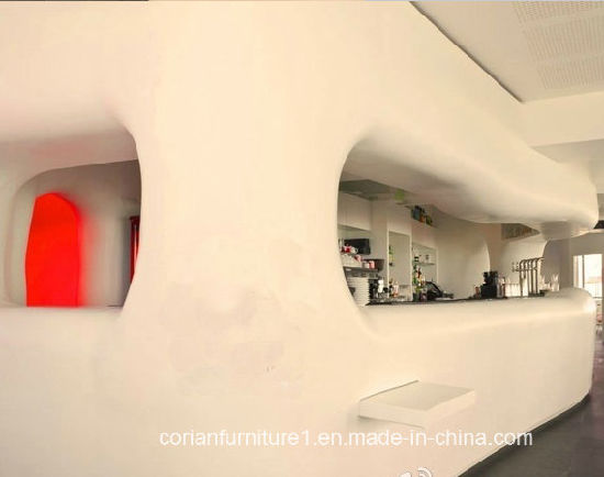 Modern Design Corian Coffee Kiosk pictures & photos