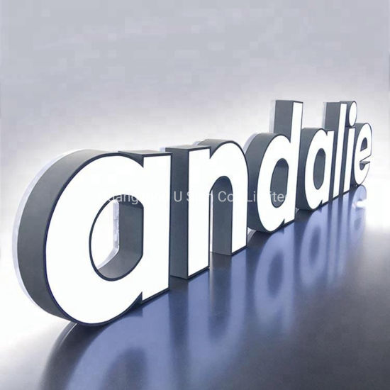 Attractive Indoor LED Facellit Letters Sign, Advertising Letters Sign